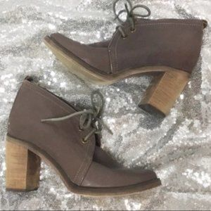 Jeffrey Campbell Boxxy heeled boots